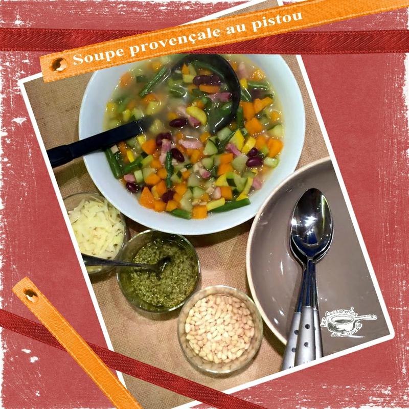 soupe provençale au pistou nouvelle version (SCRAP)