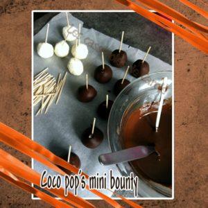 Coco pop's mini bounty (SCRAP)