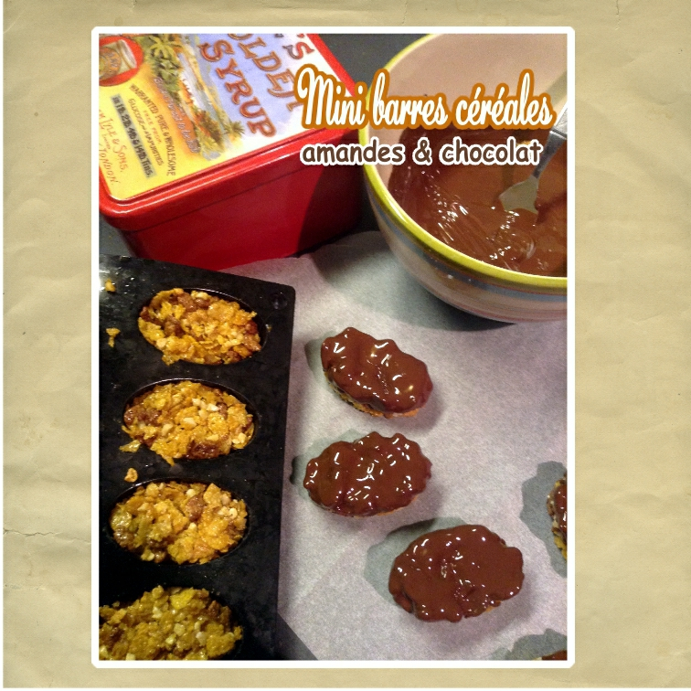mini barres céréales amandes choco (SCRAP)