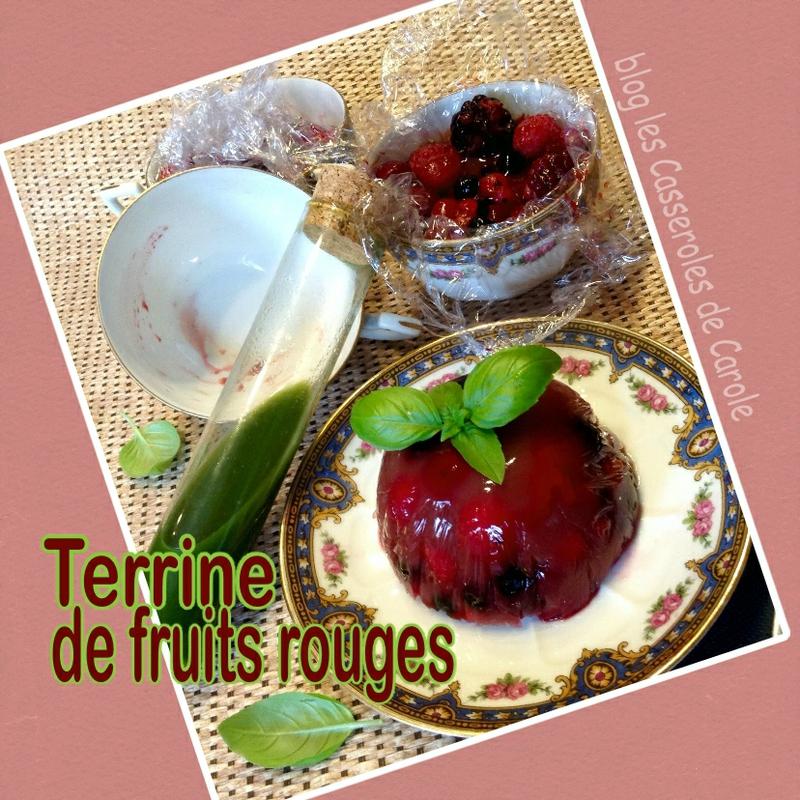 terrine de fruits rouges coulis citron basilic(SCRAP)