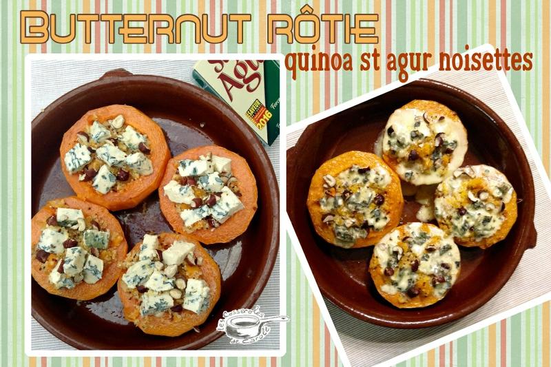 butternut rotie quinoa st agur noisettes (scrap)