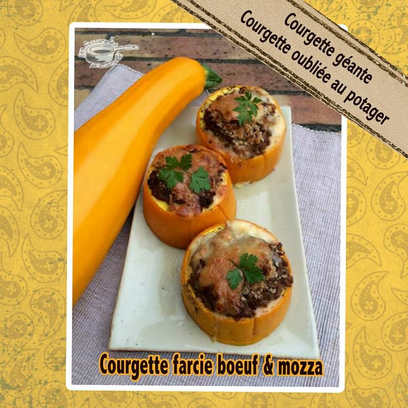 courgettes farcies (courgette oubliée courgette géante)2