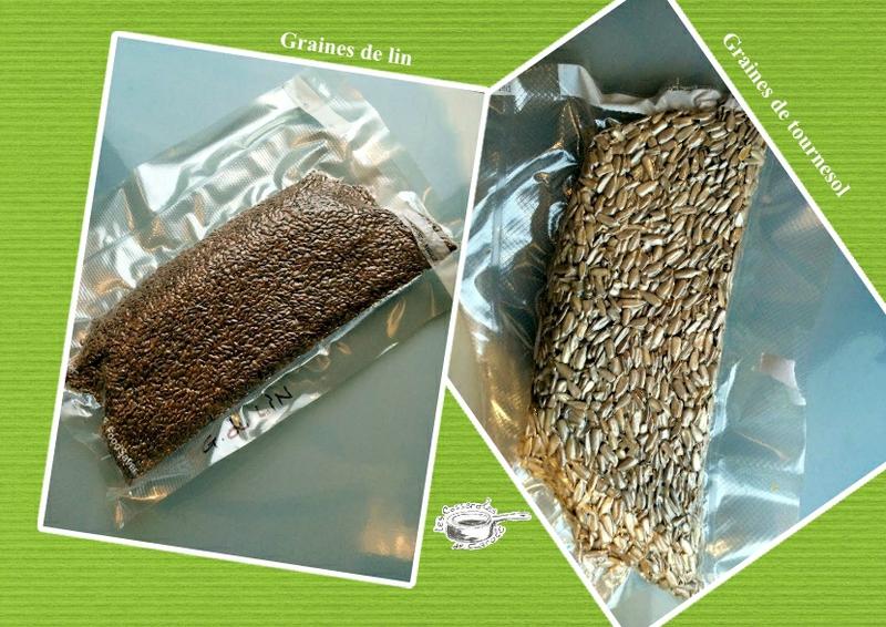 graines sous vide