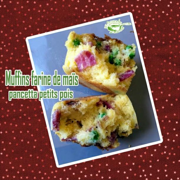 muffins farine de mais pancetta petits pois interieur (SCRAP)