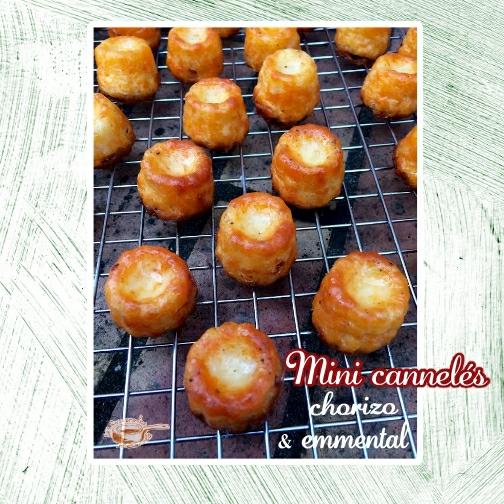 Mini cannelés chorizo emmental(scrap)