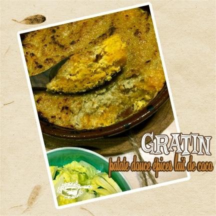 gratin patate douce épice lait de coco (scrap)