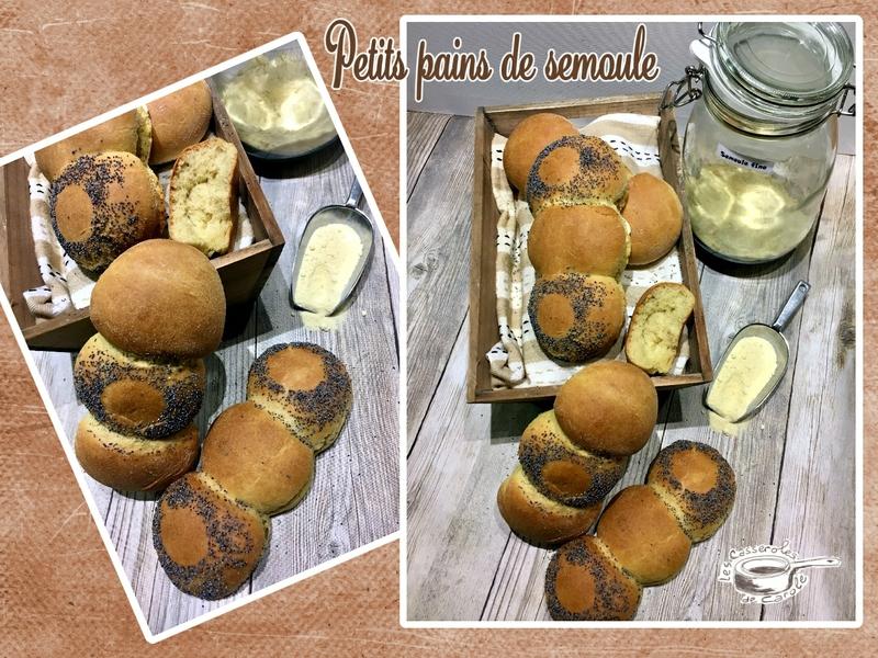 Petits pains à la semoule fine (SCRAP)