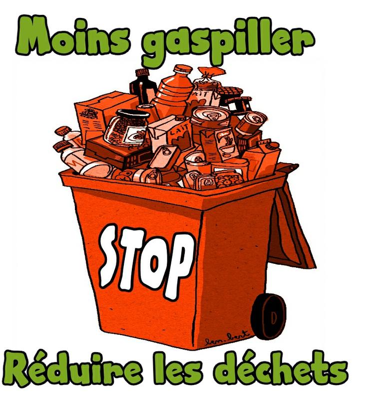 moins gaspiller reduire les déchets