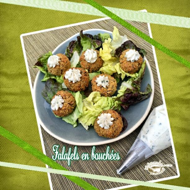 Falafels en bouchées (SCRAP)