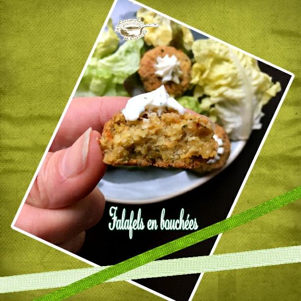 falafels en bouchées gros plan (SCRAP)