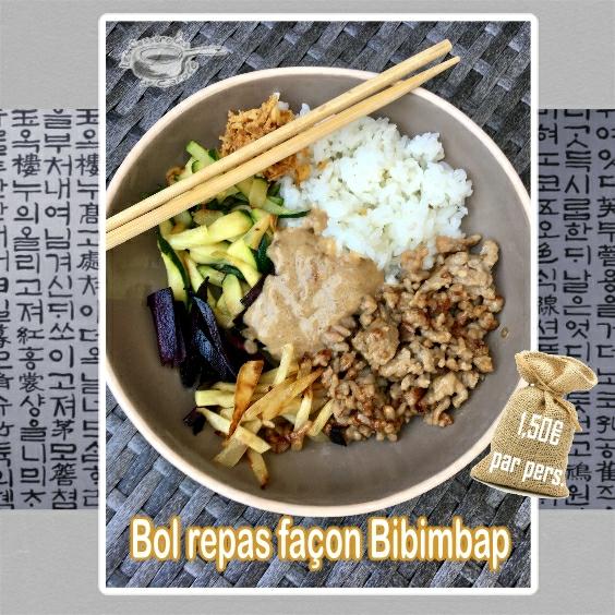 bol repas façon bibimbap (SCRAP)