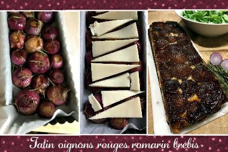tatin oignons rouges romarin brebis (Trio SCRAP)