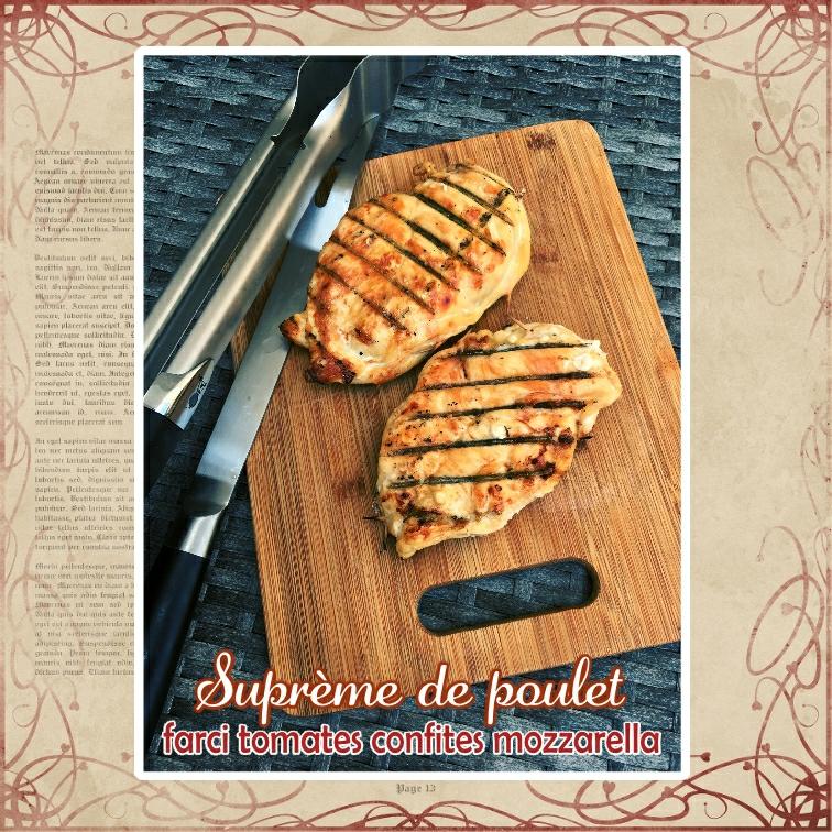 suprème de poulet farci mozza tomate confite basilic (scrap)