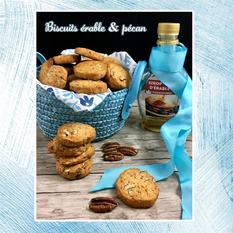 biscuits érable et pécan (scrap)