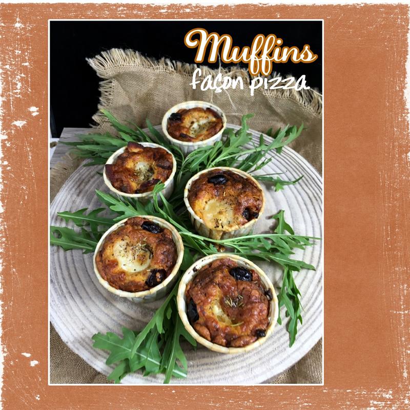 muffins façon pizza (scrap)
