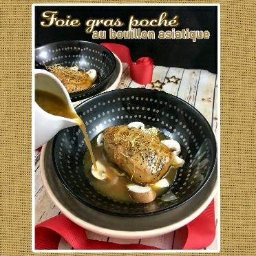 foie gras poché au bouillon asiatique (scrap)