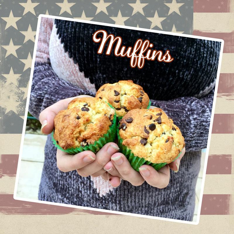 muffins sucrés (scrap)