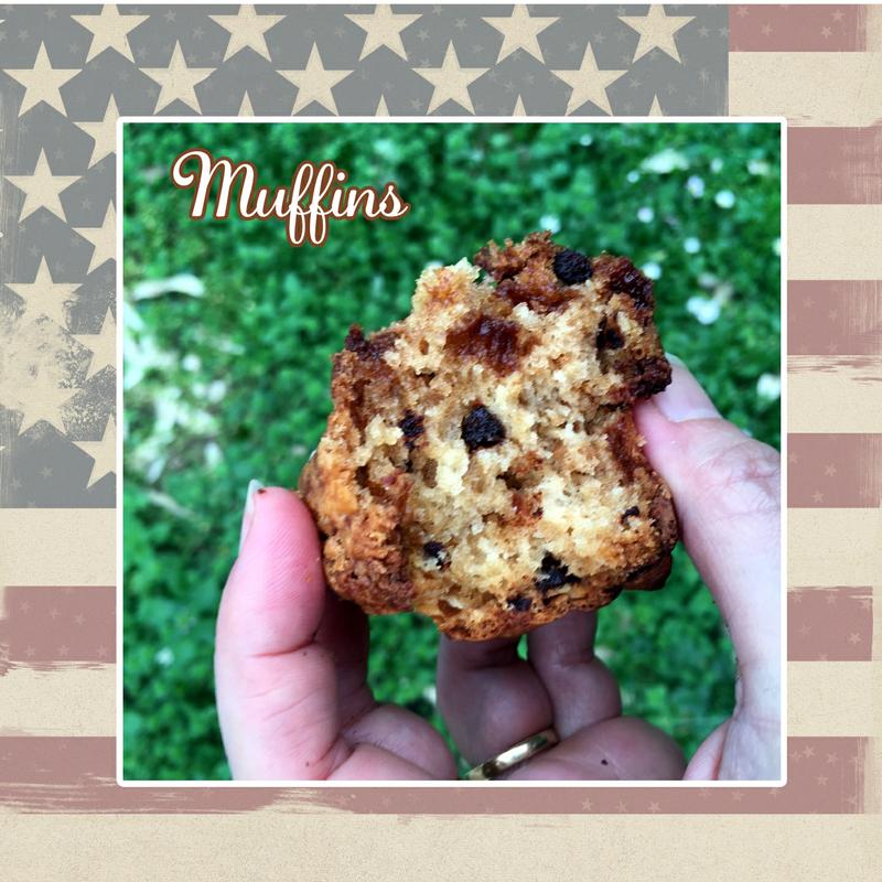 Muffins sucrés texture (scrap)
