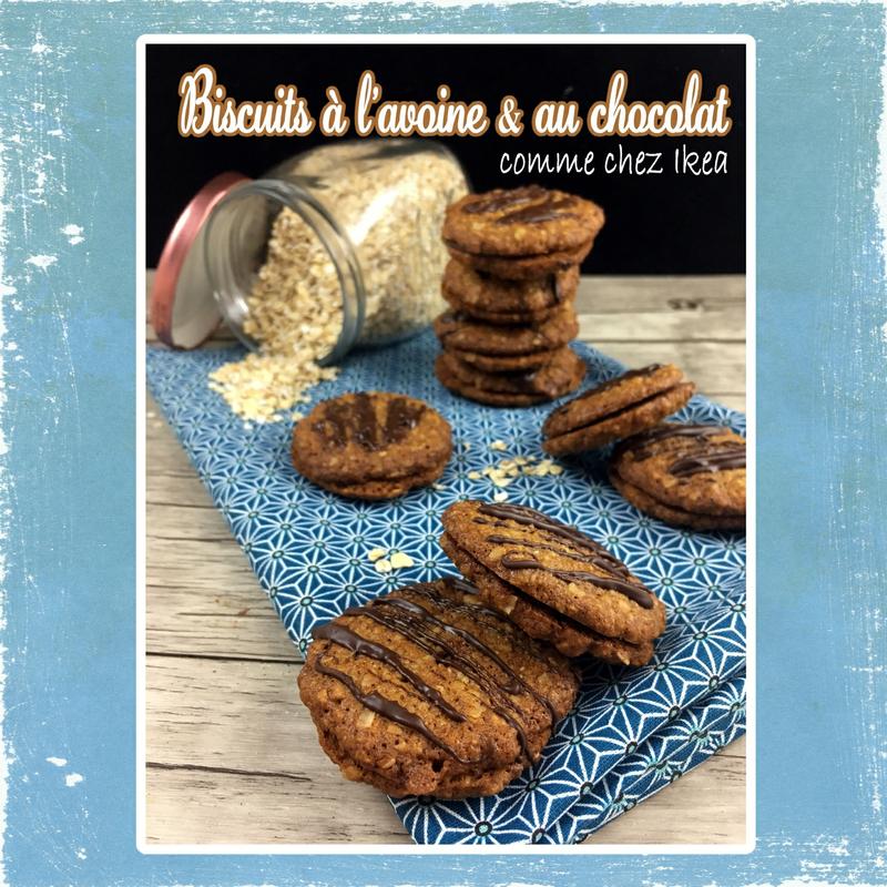 biscuits à l'avoine et chocolat ikea