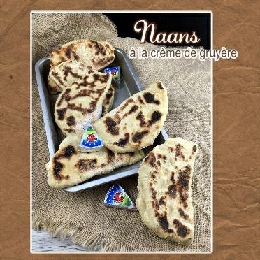 Naans a la crème de gruyère (scrap)