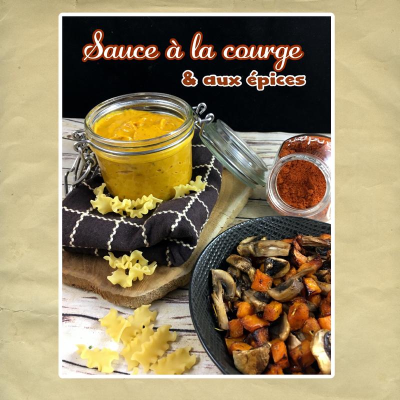 sauce a la courge et aux épices (scrap)