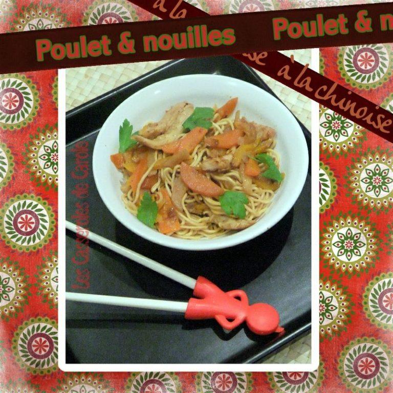 poulet et nouilles chinoises