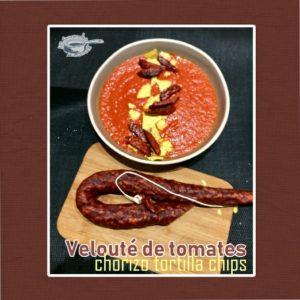 velouté tomates chorizo