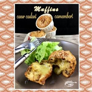 muffins oignons camembert noix