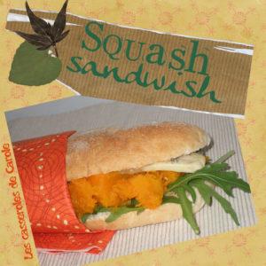 sandwich a la courge de J.Andrieu