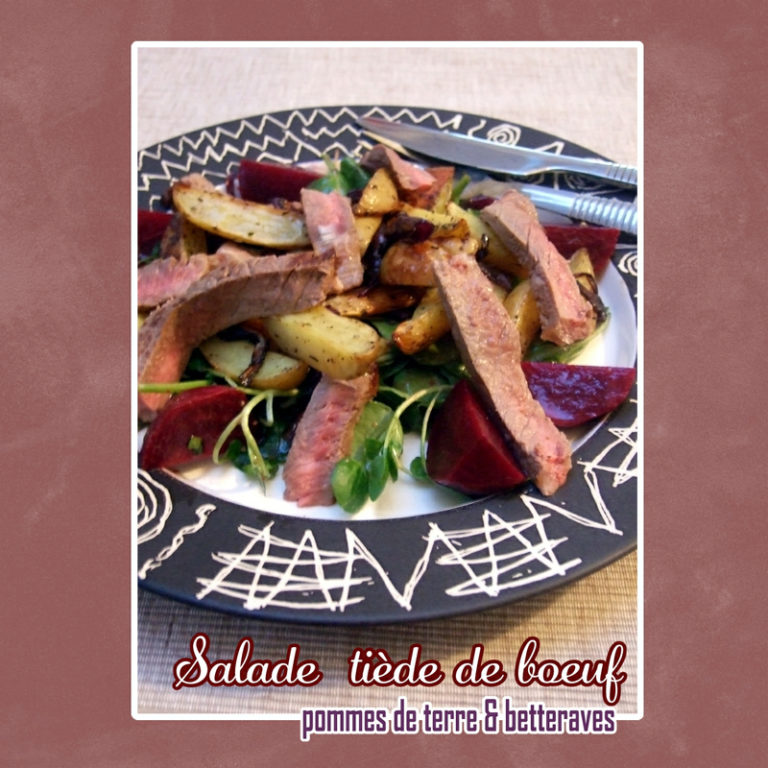 salade tiede pdt betterave boeuf