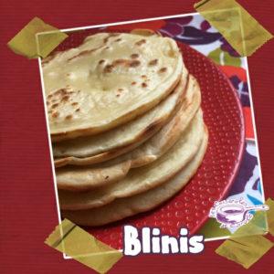 blinis sans lactose recette facile