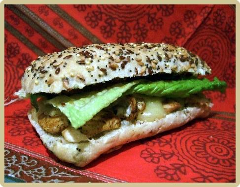 sanwich saveurs indiennes