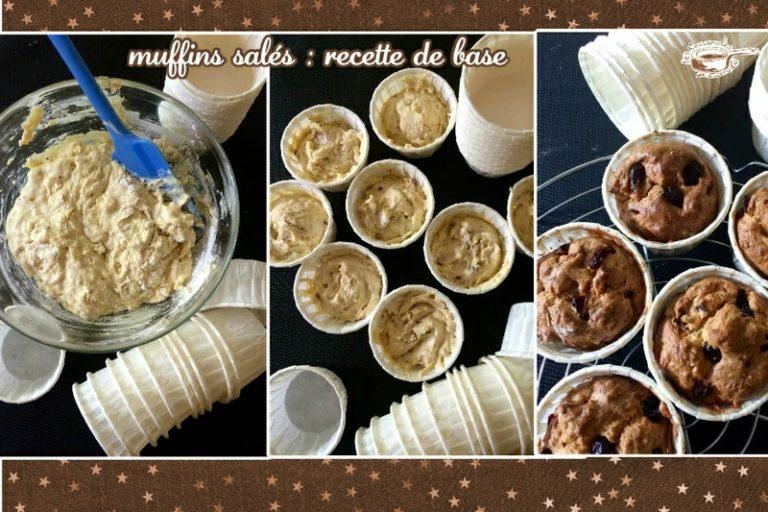 muffins salés recette de base