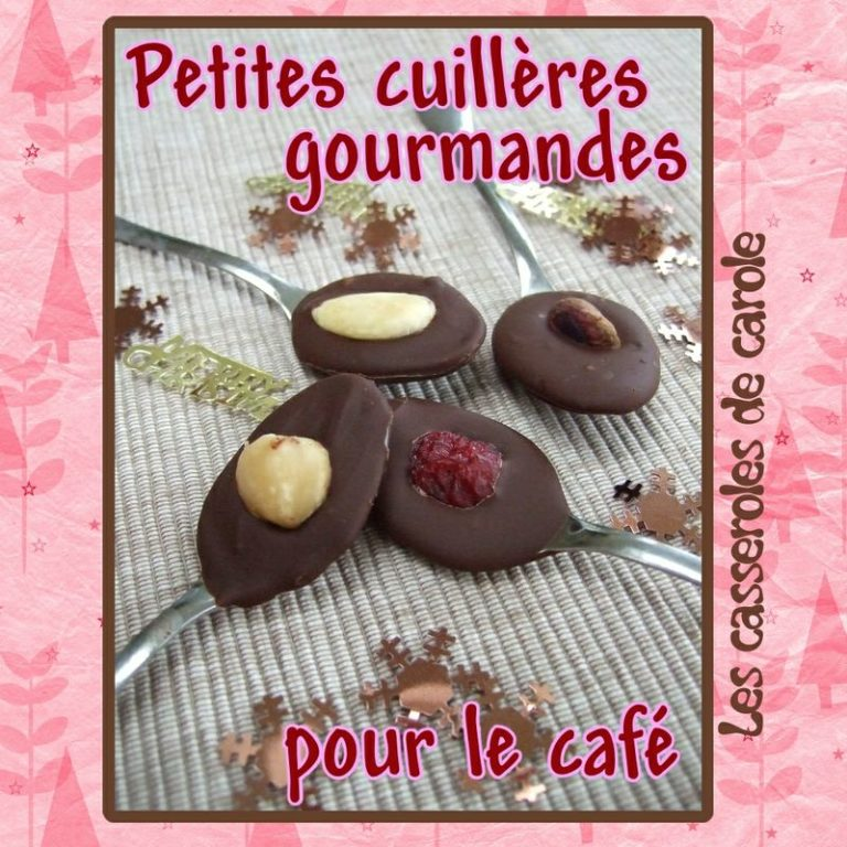 cuillères gourmandes pour café