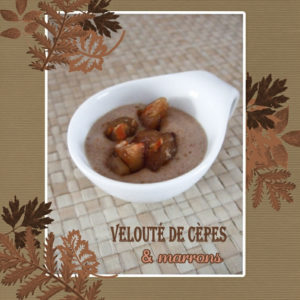 velouté cèpes marrons