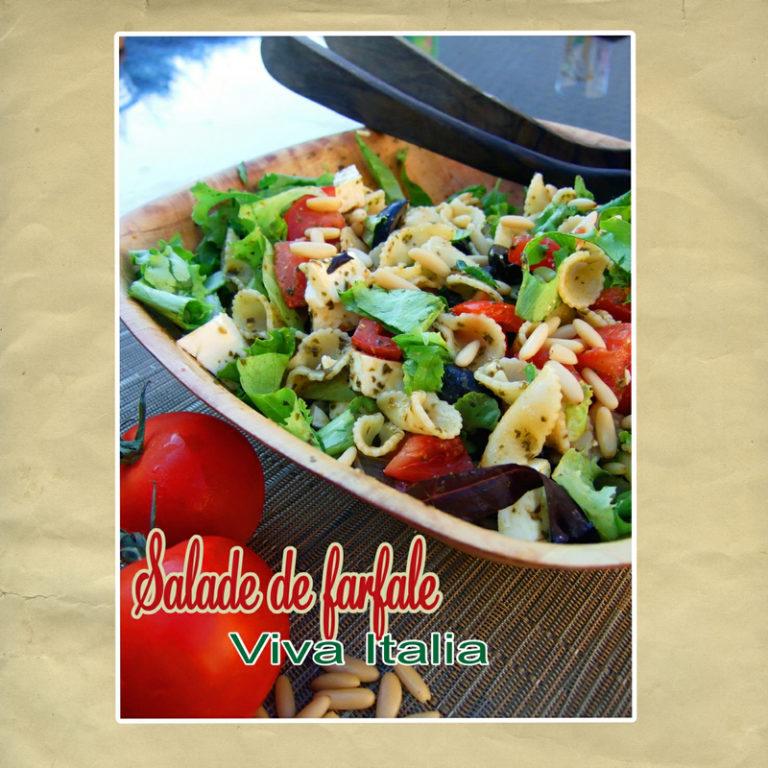 salade de pates à l'italienne