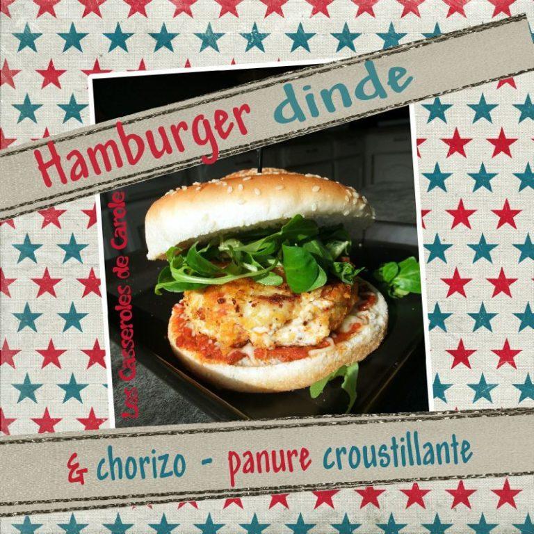 hamburger de dinde