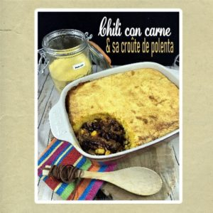 chili mexicain croûte de polenta