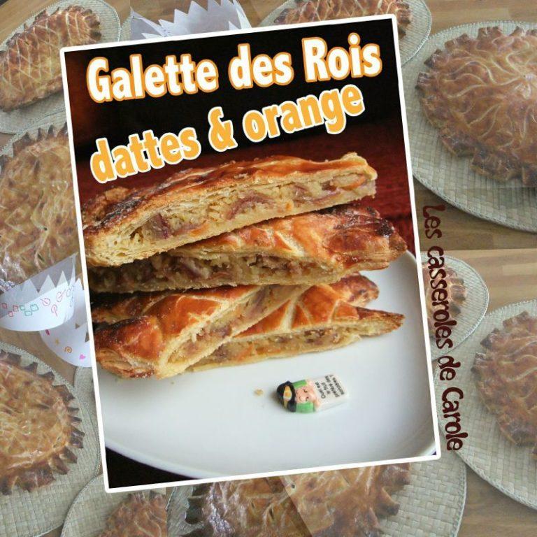 galette des rois dattes orange