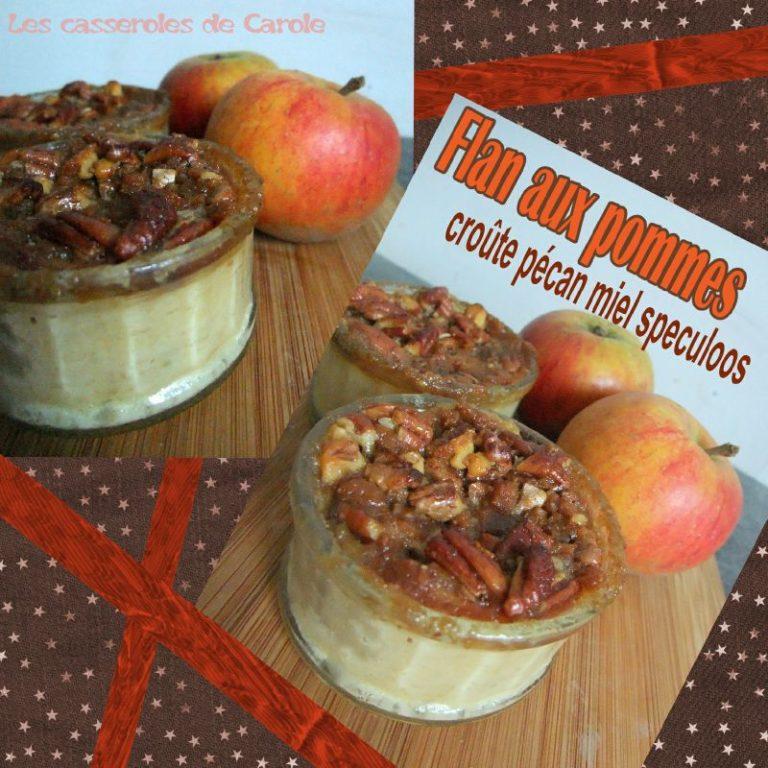 flan de pomme croute gourmande