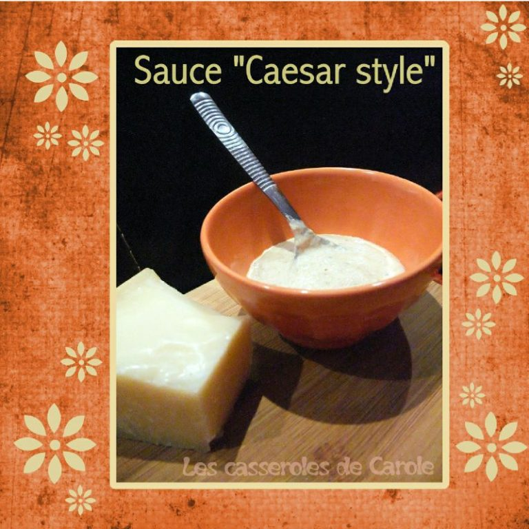 sauce caesar