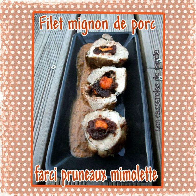 filet mignon farci pruneau mimolette