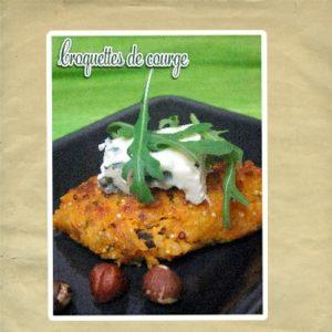 croquette de courge quinoa bleur