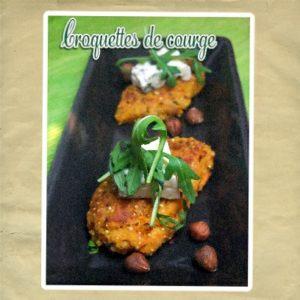 croquette courge quinoa fromage bleu