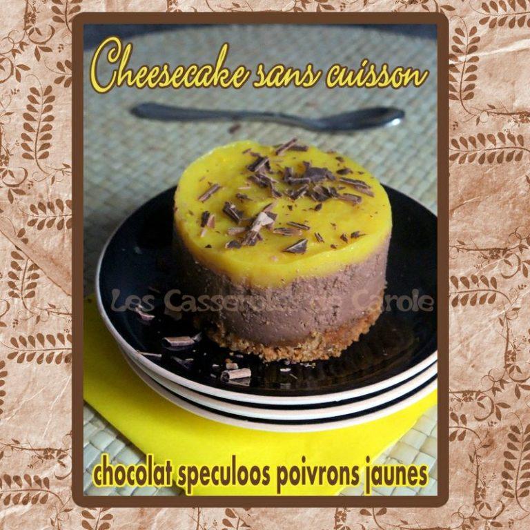cheesecake sans cuisson chocolat