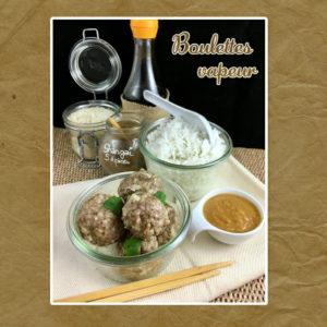 boulettes vapeur viande et riz