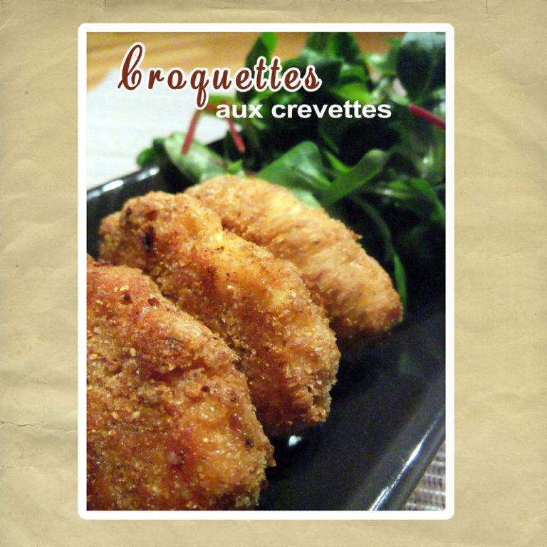 croquettes crevettes