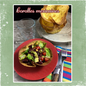Corolles salade mexicaine
