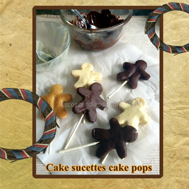 Cake sucette cake pops