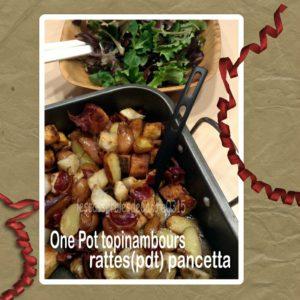 One pot topinambours rattes pancetta